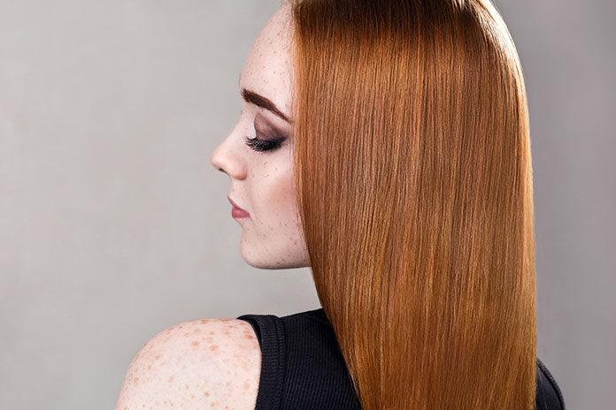 Farby do włosów w kolorze rudym